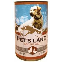 Pet's Land Dog konzerv baromfival