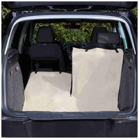 Trixie autóbelső védő takaró bézs/fekete színben kutyás gazdiknak