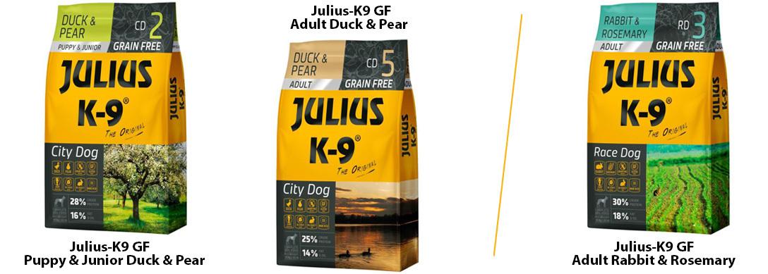 Julius K9 Grain Free tápok