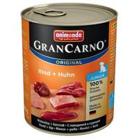 Animonda GranCarno Junior csirkés és marhás konzerv