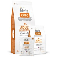 Brit Care Hypoallergenic Adult Medium Lamb & Rice kutyatáp
