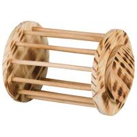 Trixie rácsos kerek fa szénatartó kisállatok számára