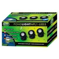 Aqua Nova NPL1-LED3 kerti tó világítás