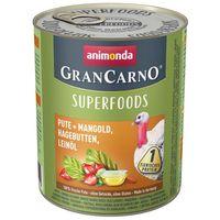 Animonda GranCarno Superfoods pulykával és csipkebogyóval