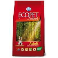 Ecopet Natural Adult Mini | Száraztáp kistestű kutyák igényei szerint