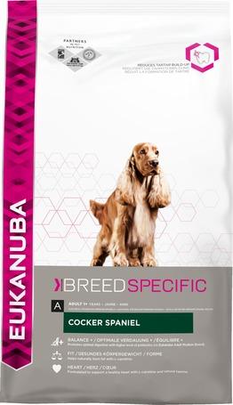 Eukanuba Breed Cocker Spaniel táp felnőtt cocker spánieleknek | Kutyaeledel