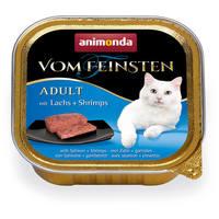 Animonda Vom Feinsten – Lazacos és garnélarákos macskaeledel