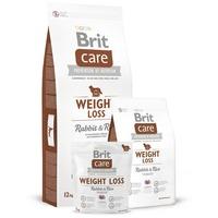 Brit Care Weight Loss Rabbit & Rice | Nyúlhúsos táp túlsúlyos kutyák részére