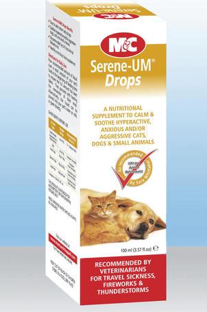 M&C Serene-UM Calm csepp hiperaktív, ideges kutyáknak, macskáknak
