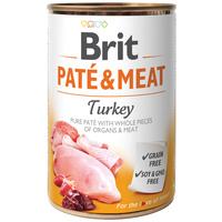 Brit Care Paté & Meat Turkey konzerv kutyáknak - Pástétom egész húsdarabokkal