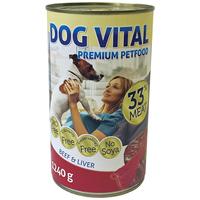 Dog Vital Beef & Liver konzerv