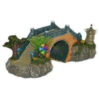 Kínai téglahíd akvárium dekoráció