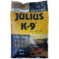 Julius-K9 GF City Dog Adult Duck & Pear | Gabonamentes táp felnőtt kutyáknak