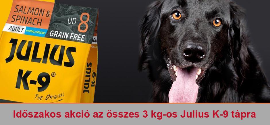 Julius K9 3 kg os akció