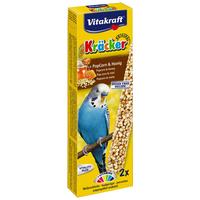 Vitakraft PopFit mézes, popcornos dupla rúd hullámosnak