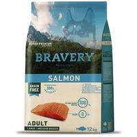 Bravery Dog Adult Medium/Large Grain Free Salmon | Kutyatáp Spanyolországból közepes és nagy termetű felnőtt kutyáknak | Gabonamentes