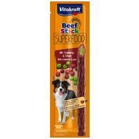 Vitakraft Beef Stick Superfood borsós és vörösáfonyás húsrúd kutyáknak