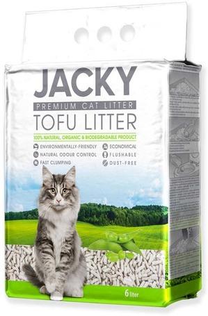 Jacky tofu alom macskáknak - 100% organikus és lebomló