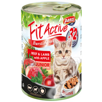 FitActive Cat Junior Beef & Lamb with Apple