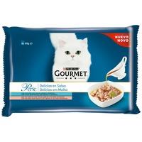 Gourmet Perle Multipack - Gravy Delight - Lazac, tonhal (4 x 85 g)