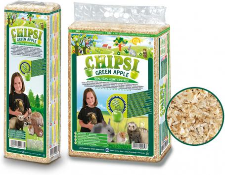 Chipsi Plus zöld almás forgács