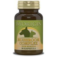 ByOrigin immunerősítő gomba kapszula 5 féle gyógygombával és Moringával