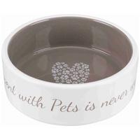 Trixie Pet's Home kerámia kutyatál szívecske mintával
