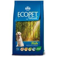 Ecopet Natural Fish Medium | Kutyatáp hallal közepes testű kutyáknak