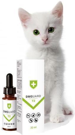 DMGuard T2 immunerősítő készítmény taurinnal macskáknak, kutyáknak, kisállatoknak, díszmadaraknak és díszhalaknak