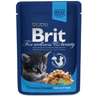 Brit Premium Cat with Chicken Chunks for Kitten