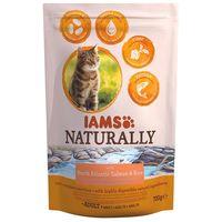 IAMS Naturally Cat – Lazacos szárazeledel macskáknak