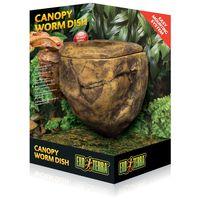 Exo Terra Canopy Worm Dish – Kukactál hüllők etetéséhez