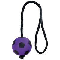 Trixie Neon úszó színes játék labda kötéllel