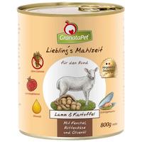 GranataPet bárányos és burgonyás konzerv kutyáknak