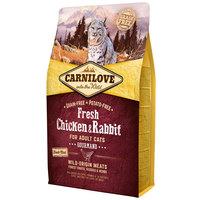 CarniLove Fresh Adult Cat Gourmand - Csirke- és nyúlhúsos száraztáp macskáknak