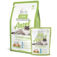 Brit Care Cat Angel I'm Delighted Senior - Chicken & Rice - Hipoallergén eledel idős (7 év feletti) macskáknak