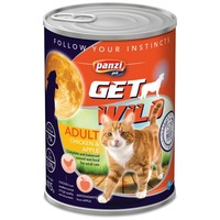 Panzi GetWild Cat Adult Chicken & Apple konzerv