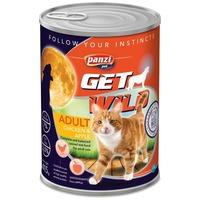 Panzi GetWild Cat Adult Chicken & Apple konzerv