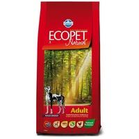 Ecopet Natural Adult Maxi | Nagytestű felnőtt kutyáknak ajánlott száraztáp