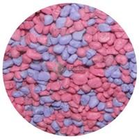 Mix akvárium aljzatkavics (rózsaszín/kék)
