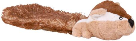 Trixie nagyfejű mókus plüss kutyajáték