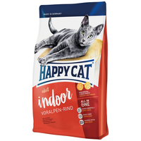 Happy Cat Supreme Indoor Adult Voralpen-Rind macskatáp