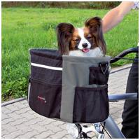 Trixie kutyaszállító táska biciklire előre