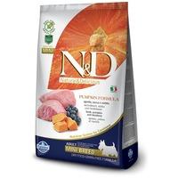 N&D Dog Grain Free Adult Mini sütőtök, bárány & áfonya kistestű felnőtt kutyáknak | Gabonamentes kutyatáp