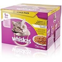 Whiskas szárnyashúsos válogatás aszpikban – Alutasakos eledel – Multipack