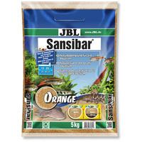 JBL Sansibar Orange természetes akvárium talaj (narancssárga)