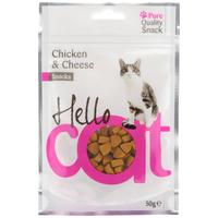 Hello Cat csirkés és sajtos jutalomfalatok