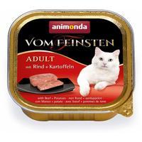 Animonda Vom Feinsten Adult – Marhahúsos és burgonyás macskaeledel