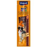 Vitakraft Beef Stick Superfood répás és chiamagos húsrúd kutyáknak