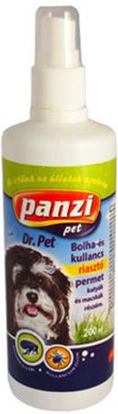 Panzi Dr.Pet kullancs- és bolhariasztó spray kutyáknak